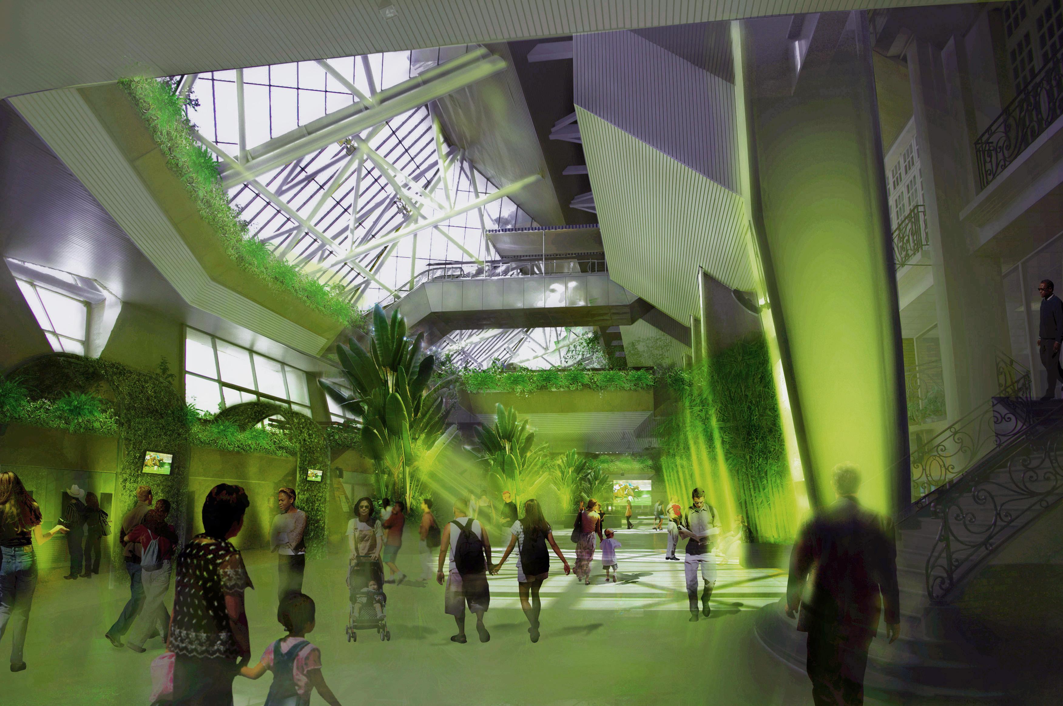 Hippodrome de vincennes jonas architecte - Salon de the vincennes ...
