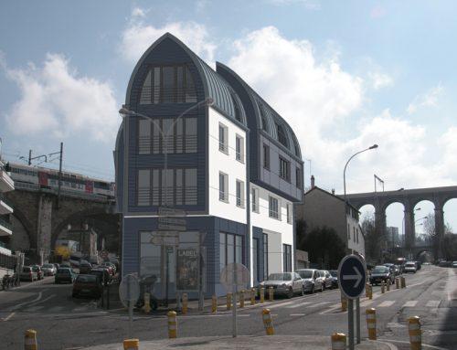 Immeuble Val de Seine à Meudon