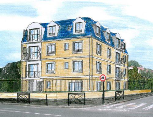 Immeuble rue Louis Legrand à Gagny