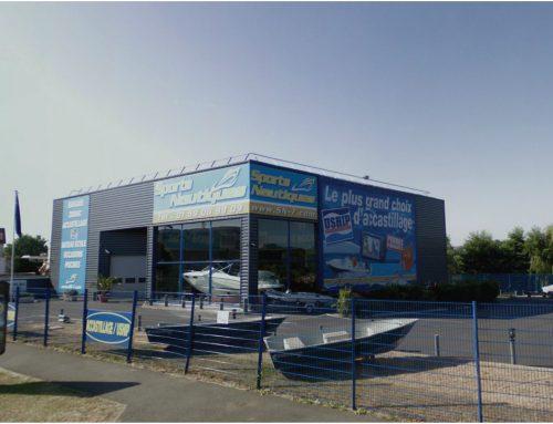 Hall d'exposition nautique à Grigny